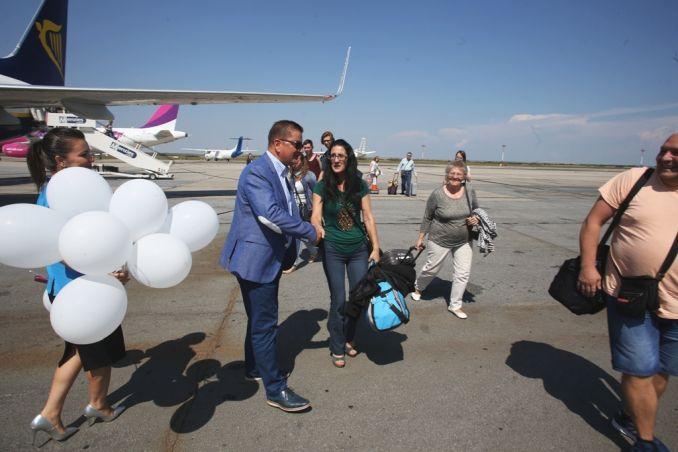 Actualitatea Pasagerul cu numarul 1.000.000 pe Aeroportul International Timisoara Lugoj 003
