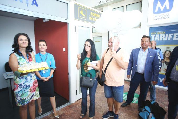Actualitatea Pasagerul cu numarul 1.000.000 pe Aeroportul International Timisoara Lugoj 005
