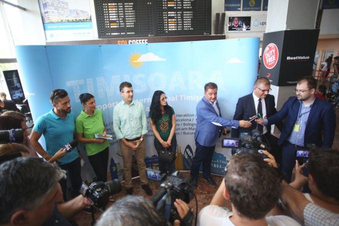 Actualitatea Pasagerul cu numarul 1.000.000 pe Aeroportul International Timisoara Lugoj 007