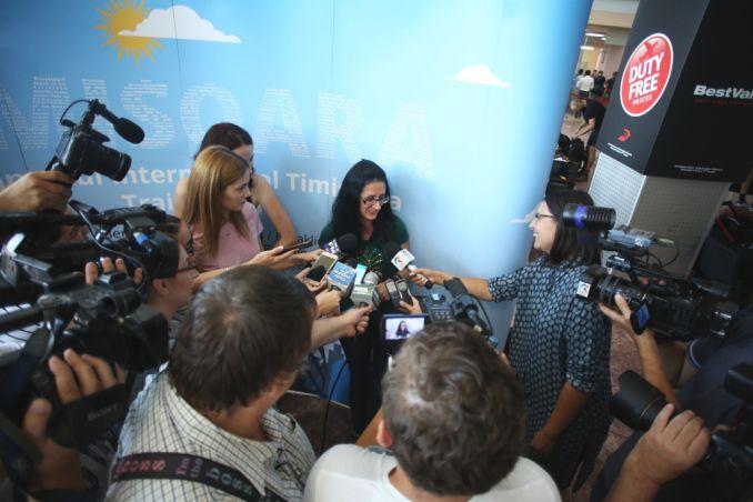 Actualitatea Pasagerul cu numarul 1.000.000 pe Aeroportul International Timisoara Lugoj 012