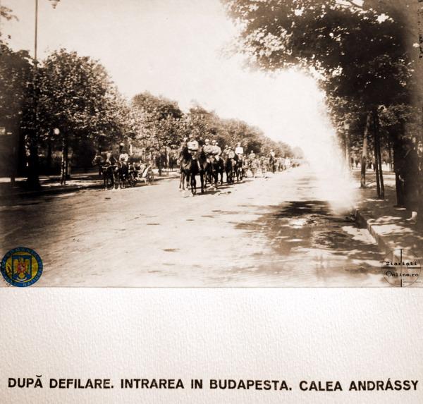 17-Armata-Romana-la-Budapesta-1919-Dupa-defilare-pe-calea-Andrassy-Foto-Roncea-Ro-Ziaristi-Online-Arhivele-Nationale