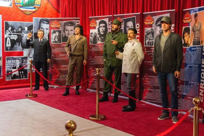 Actualitatea Premiera nationala statuia din ceara a Regelui Mihai la Shopping City Timisoara Lugoj 004