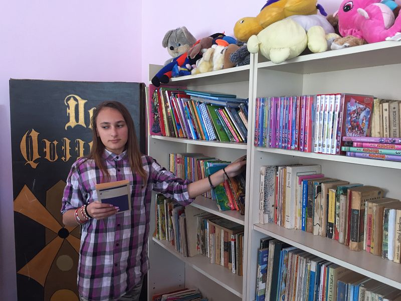 Actualitatea donatie carti scola balint Lugoj 006