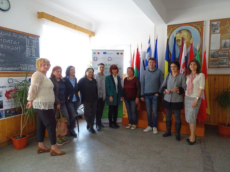 Actualitatea Erasmus+ Transnational Meeting la Liceul Tehnologic Aurel Vlaicu Lugoj Lugoj 006