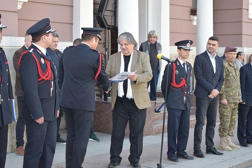 Actualitatea autoutilitara pompieri ultima generatie Lugoj 2