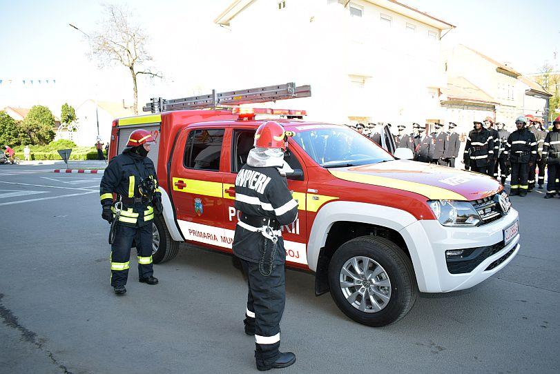 Actualitatea autoutilitara pompieri ultima generatie Lugoj 4