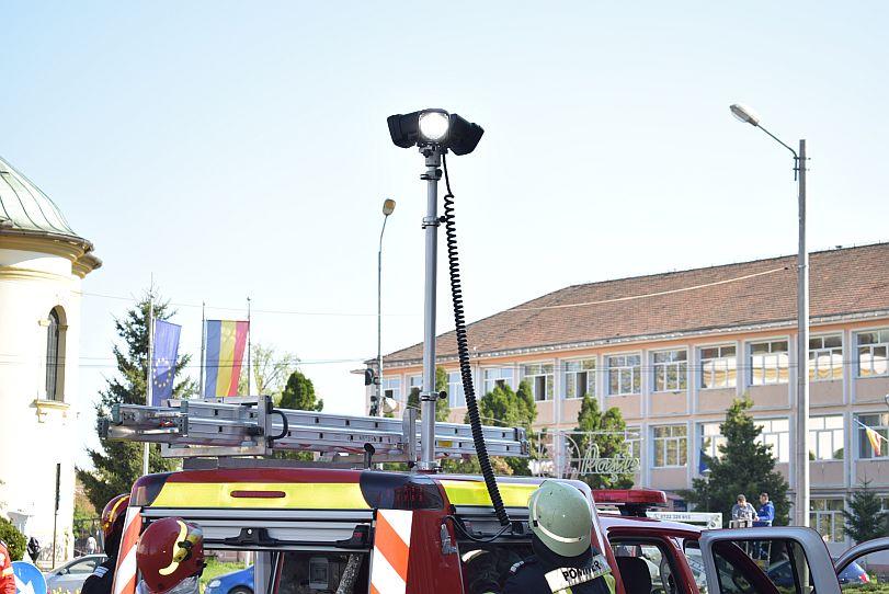 Actualitatea autoutilitara pompieri ultima generatie Lugoj 6