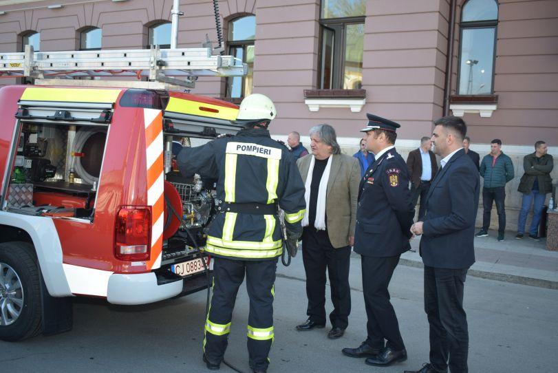 Actualitatea autoutilitara pompieri ultima generatie Lugoj 8