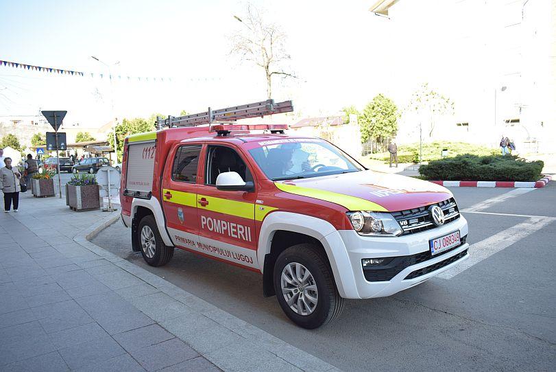 Actualitatea autoutilitara pompieri ultima generatie Lugoj 9