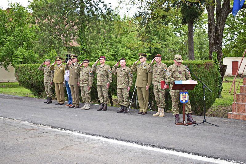 Actualitatea Batalionul 183 Artilerie Mixta Ion Dragalina 100 de ani Lugoj 001