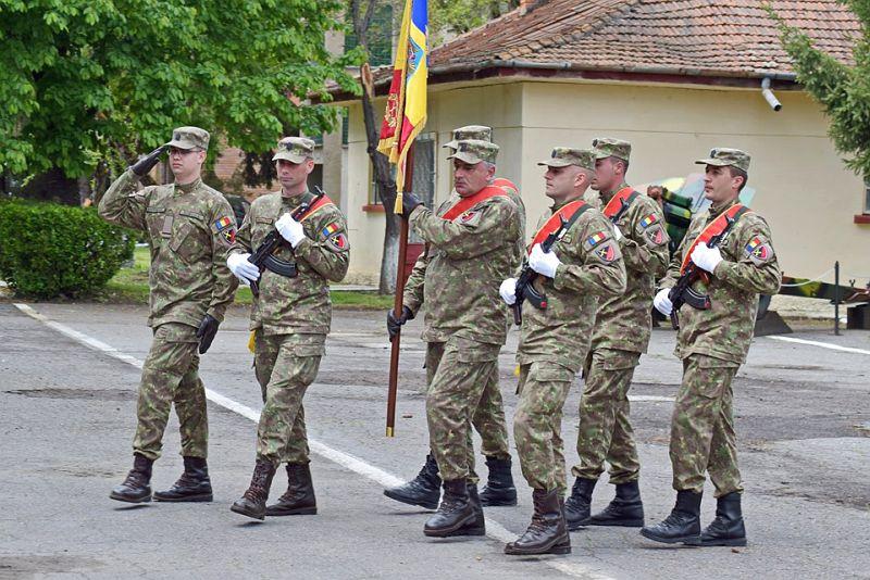 Actualitatea Batalionul 183 Artilerie Mixta Ion Dragalina 100 de ani Lugoj 006