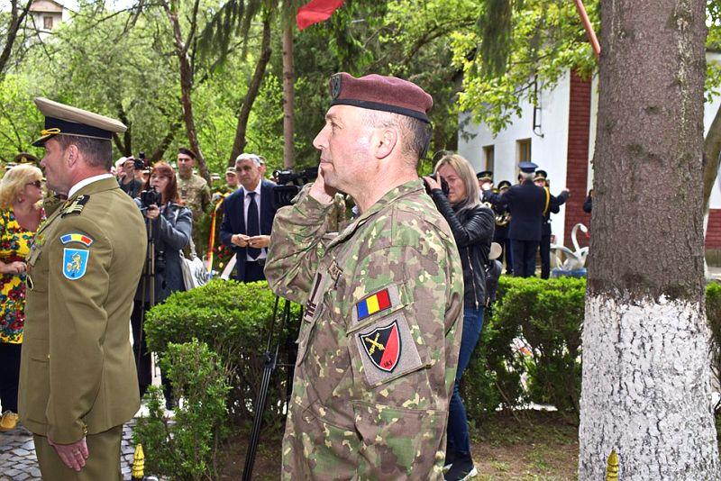 Actualitatea Batalionul 183 Artilerie Mixta Ion Dragalina 100 de ani Lugoj 007
