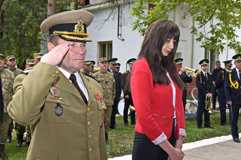 Actualitatea Batalionul 183 Artilerie Mixta Ion Dragalina 100 de ani Lugoj 008