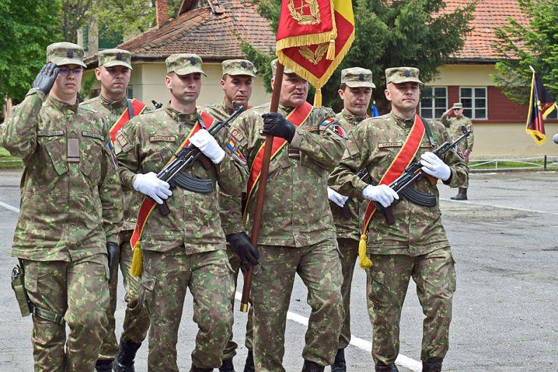 Actualitatea Batalionul 183 Artilerie Mixta Ion Dragalina 100 de ani Lugoj 010