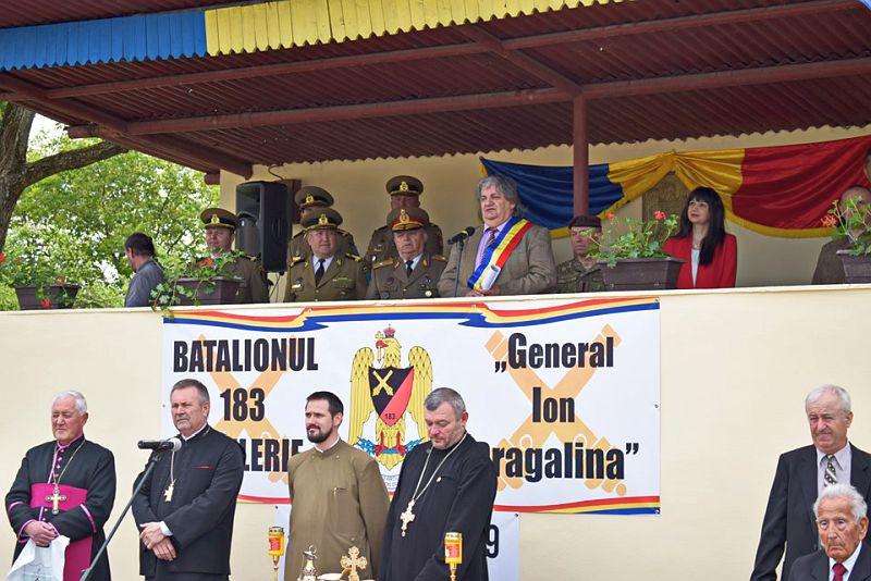 Actualitatea Batalionul 183 Artilerie Mixta Ion Dragalina 100 de ani Lugoj 011