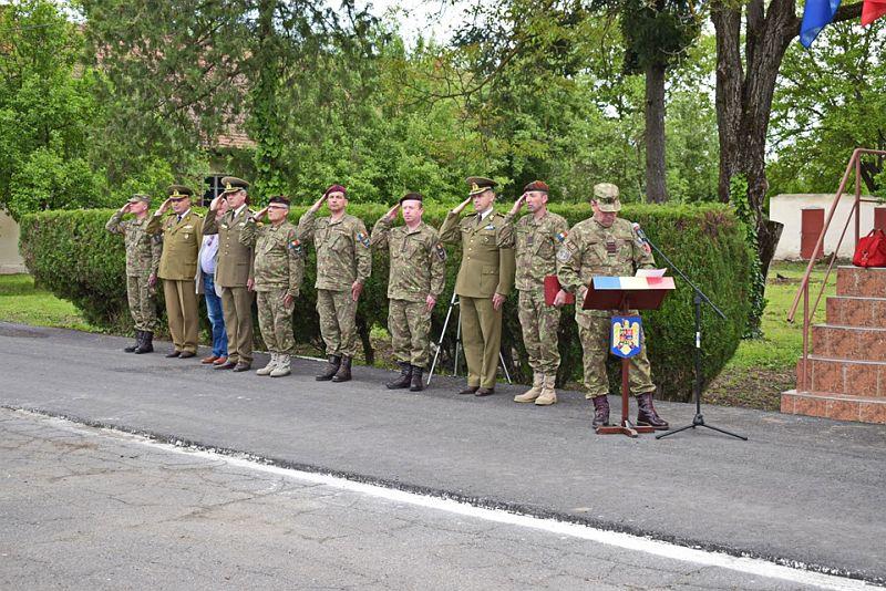 Actualitatea Batalionul 183 Artilerie Mixta Ion Dragalina 100 de ani Lugoj 012