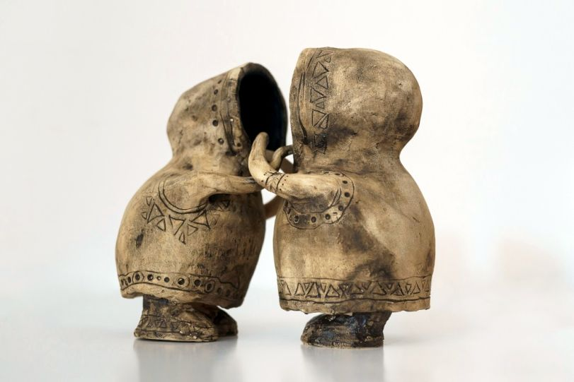 Evghenia Gritscu ceramica arsa 4