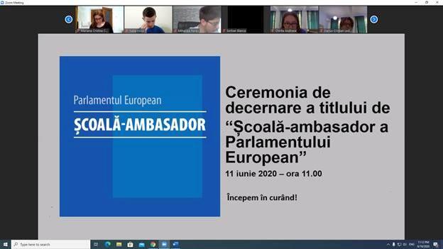 Liceul Tehnologic Valeriu Braniste scoala ambasador a parlamentului european 004