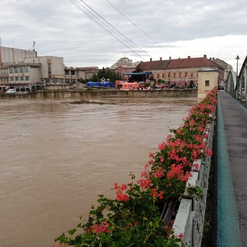 inundatii la podul de fier 11