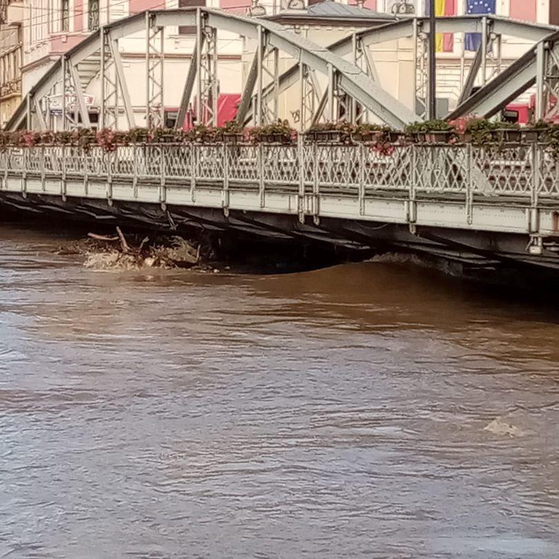 inundatii la podul de fier 15