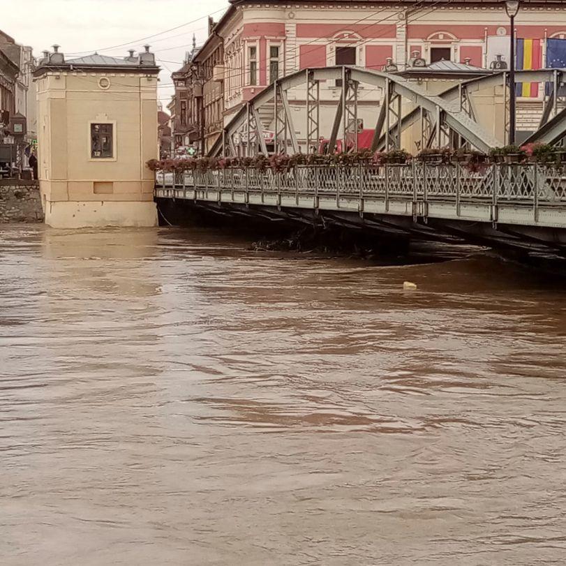 inundatii la podul de fier 3