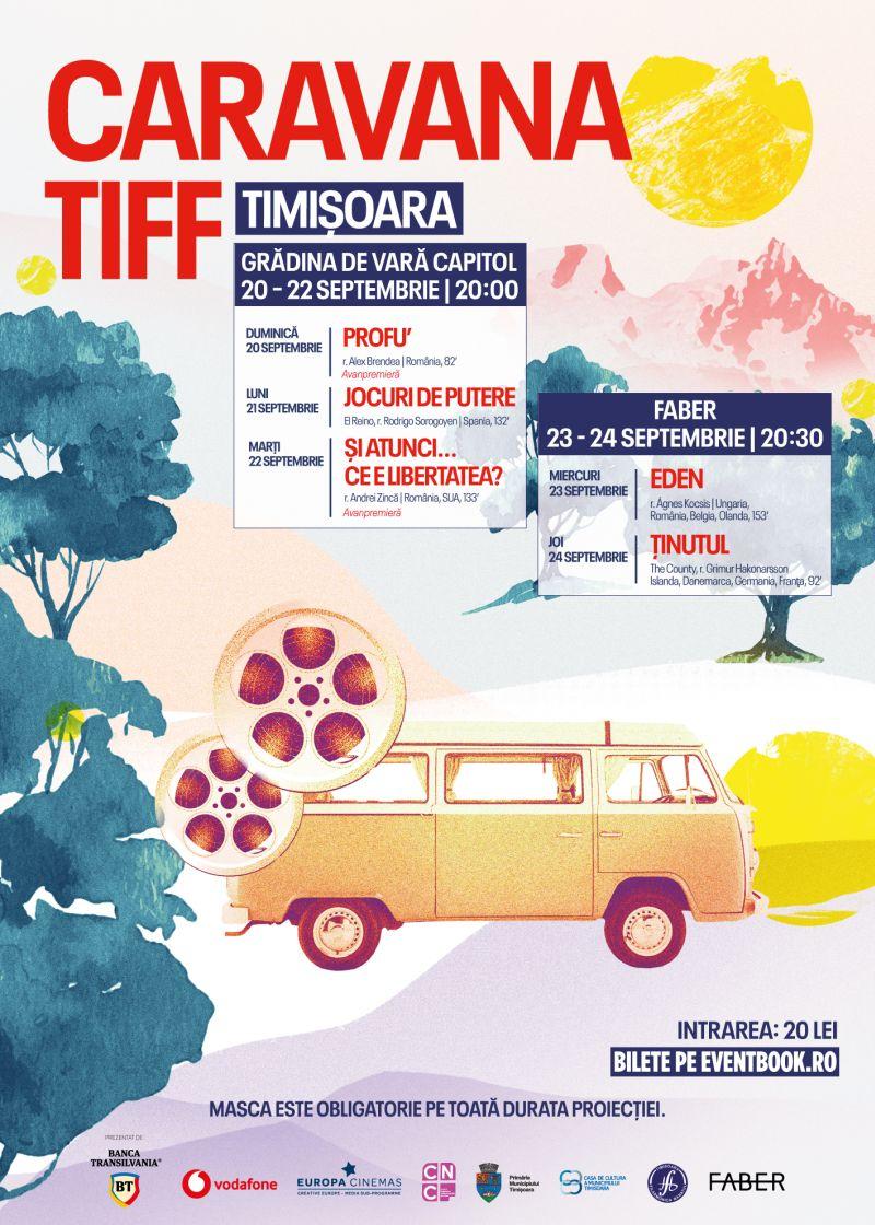 Afis_CARAVANA_TIFF_TIMISOARA